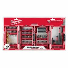 Milwaukee Shockwave Impact Duty Drill and Drive Set 75-Piece