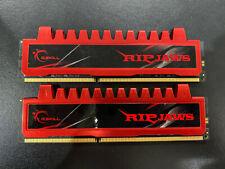 G.Skill RipJaws 8GB Kit (2x4GB) PC3-10666 Desktop Memory RAM F3-10666CL9Q-16GBRL