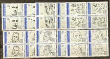 FRANCE BLOCS DE 4 YVERT N° 2799 à 2804 PERSONNAGES CELEBRES