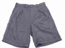 Shorts Crofts and Barrow Size 32 W Pleated Grey Dress Pants