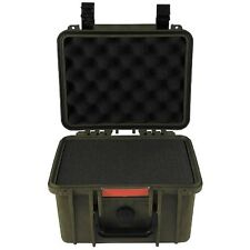 Box Kunststoff wasserdicht 26,7x23,9x17,6 cm oliv Kunststoffbox Kiste Behälter