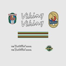 Viking Hosteller Bicycle Frame Stickers, Decals, Transfers  n.3
