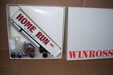 1983 Home Run Movers Winross Diecast Trailer Truck