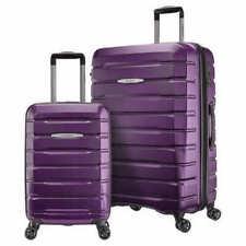 Samsonite Tech 2.0 2-Piece Hardside Spinner Set-Purple. FREE SHIPPING!!!