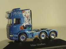 Scania R13 LKW Zugmaschine m. sexy Airbrush Motiv - Herpa 1:87 - 110884 #E