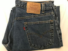 Levi's of authentic 550 red tab/Relaxed 36x32 Made in USA