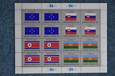 1998 Flags Full Sheet - N722a - MNH