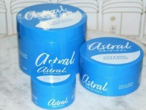 Astral Original Face And Body Intensive Moisturizer & Body Caring Cream /UK POST
