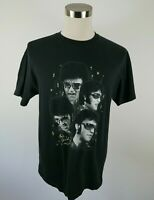 Elvis Presley Mens Womens SS Crew Neck Black Graphic T Shirt by AAA Size Large