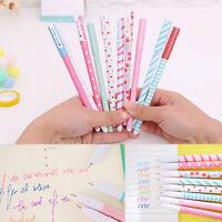 Kawaii Colorful Gel Pen Set  Korean Style Stationery Creative Gift School Supply