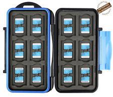 Turtle-MSD24 spritzwasserdichte Schutzbox für 24 Stück MicroSD