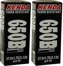 "2x Kenda 27.5"" 650B ThornProof PRESTA F/V P/V MTB Tube 27.5x1.75-2.125"""