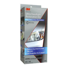 3M™ Heavy Duty Headlight Restoration Kit with Quick Clear Coat, 39195
