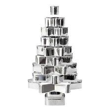 Ausstechformen Set 14 tlg. Weihnachtsbaum / Keks, Gebäck, Plätzchen Ausstecher
