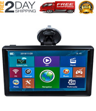 Best Car Gps Navigation 7 Inch With Maps Spoken Direction 8GB