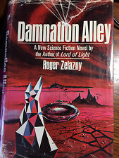 Damnation Alley, Roger Zelazny HB, First Edition, library discard