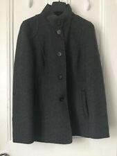 ESCADA Sport women's wool/ angora Grey Luxury jacket/ coat Size 36 UK 8/10
