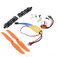 RC 2200KV Brushless Motor 2212-6+30A ESC And Propeller For RC Airplane Set Kit