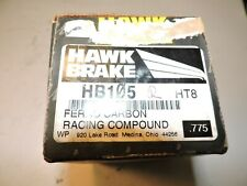 NEW Alcon or Brembo rear brake pads (7700 style) HAWK HB105  HT-8 Nascar