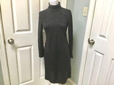 Linda Allard Ellen Tracy Black Beaded Dress Women's Size 6