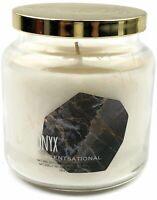 Scentsational Natural Soy 19oz Single Wick Candle With Gold Lid - Onyx Scent