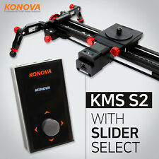 Konova KMS S2 Motorized Camera Slider with Slider Choice Auto Live Timelapse