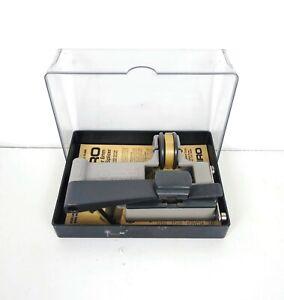 Vintage CIRO Super 8mm Adhesive Tape Splicer Matrix Catozzo Instructions & Case