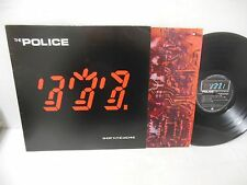 THE POLICE nr mint vinyl lp GHOST IN THE MACHINE
