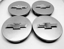 4X CHEVY Wheel RIM Center Hub Caps Silver 62MM AVEO CRUZE MALIBU IMPALA CAMARO