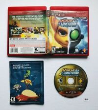 Ratchet & and Clank Future: A Crack in Time (Sony PlayStation 3, 2009) CIB