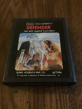 Atari 2600 game Defender Sears Telegames Tested and Working