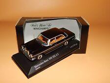 Mercedes-Benz 300 SEL 6.3 (W108) 1968-72 Schwarz 430039101  Minichamps 1/43 OVP
