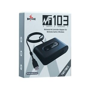 Mayflash Nintendo 64 Controller Adapter to Nintendo Switch and PC