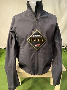 Peak Performance Golf Gore Tex Jacket, Gents Medium, Black, New