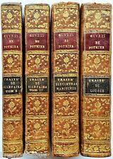 Pothier 4 volumes Traité du contrat de louage bienfaisance bail Debure 1771-1775