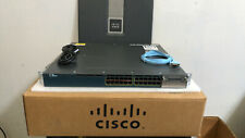 Cisco 3560X-24P-S Catalyst 24 Port Layer 3 PoE Ip Base Switch Ws-C3560X-24P-S