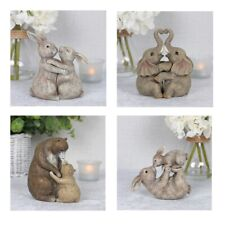 Cute Resin Animals Rabbits Elephants Bears Boxed Perfect Christmas Gift Home