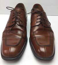 Mezlan Men's Shoes Size 10M US Leather Split Toe Lace Up Oxfords Brown