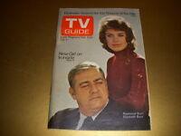 Vintage TV GUIDE, February 5 - 11, 1972, RAYMOND BURR, ELIZABETH BAUR, IRONSIDE!