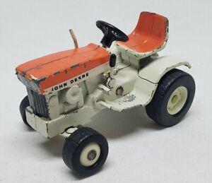 Vintage John Deere 140 Lawn And Garden Tractor Patio Orange 1/16 Scale By Ertl
