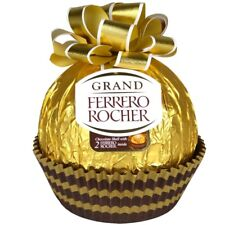 Grand FERRERO ROCHER FINE HAZELNUT CHOCOLATE CANDY  WRAPPED GIFT