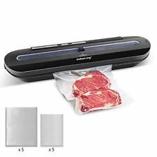 Homeasy Vacuum Sealer, Automatic Food Sealer Machine One-Touch Sealing/Vacuum