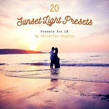 Pack 20 Presets Sunset Light Colors for Lightroom 4, 5, 6 & CC