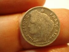 FRANCE  SILVER 20    CENTIMES   1850  K