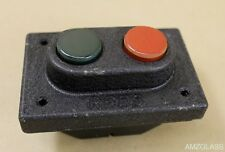 Rees 00579-132 Double Plunger Push Button Station Switch Phenolic Buttons