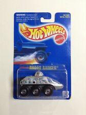 Vintage 1991 Hot Wheels Blue Card #63 Radar Ranger (Chrome CTS) 1:64 Diecast MIP