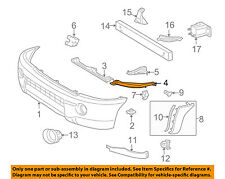 TOYOTA OEM 05-11 Tacoma Front Bumper-Upper Retainer Right 5212504010