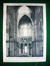 WW1 Guerra Mondiale 1918 Cattedrale di Reims + piazza del Capitolo e Cattedrale