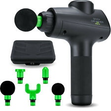 Pro Percussion Massage Gun for Deep Tissue Muscle Relaxation - Five Attachments