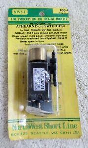 Northwest Short Line #165-4 Re Motor Kit for Athearn Diesel Switchers NOS
